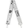 Purse Strap - Star Wars Stormtroopers Utility Belt2 Bounding White Grays Black