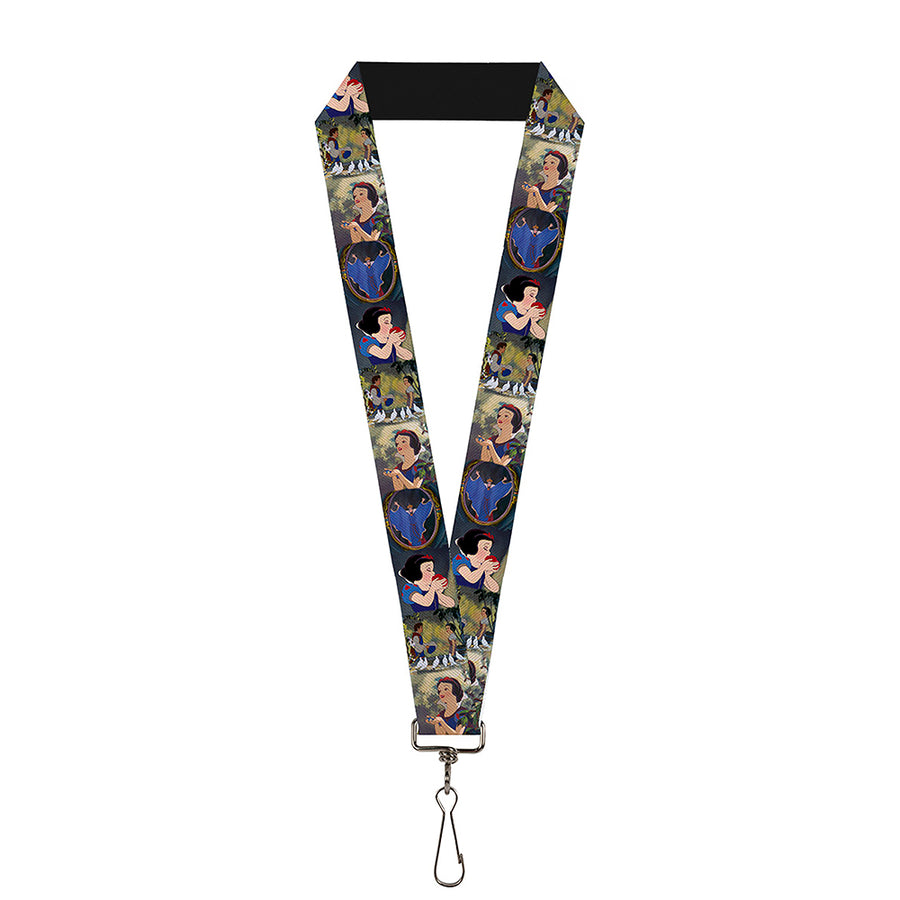 "Lanyard - 1.0"" - Snow White Scene Blocks"