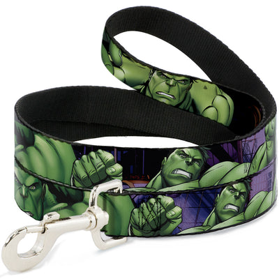 Dog Leash - Marvel Hulk CLOSE-UP Poses