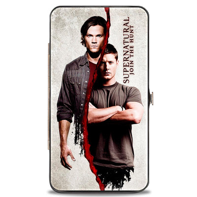 Hinged Wallet - SUPERNATURAL Winchster Brothers Divided