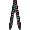 Guitar Strap - Justice League Elite Forces Superheroes
