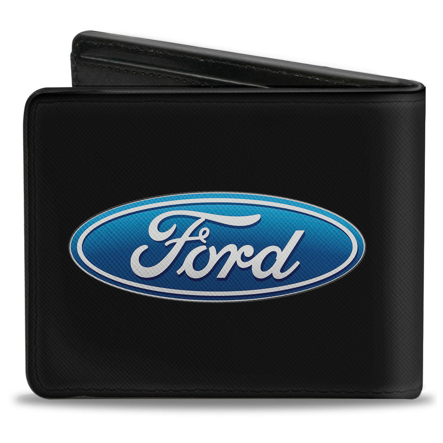 Bi-Fold Wallet - Ford Oval Logo CENTERED