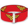 Cinch Waist Belt - Wonder Woman Logo Red
