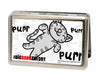 Business Card Holder - LARGE - Soft Kitty PURR, PURR, PURR FCG