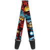 MARVEL AVENGERS Guitar Strap - Iron Man Action1