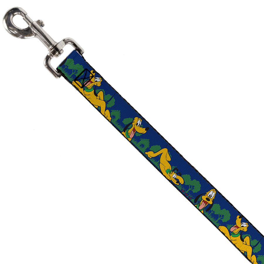 Dog Leash - Pluto 4-Poses/Landscape Blue/Green