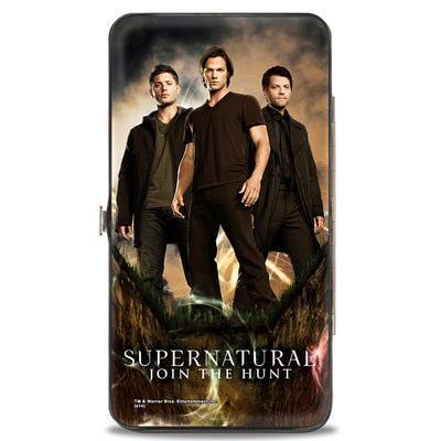 Hinged Wallet - Dean, Sam & Castiel Standing Pose SUPERNATURAL JOIN THE HUNT