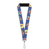 "Lanyard - 1.0"" - The Little Mermaid Ariel Poses Under the Sea Scene3"