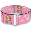 Cinch Waist Belt - Toy Story BO PEEP Smiling Pose Pinks White