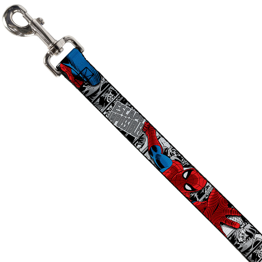 Dog Leash - Spider-Man Action ESCAPE IMPOSSIBLE Gray