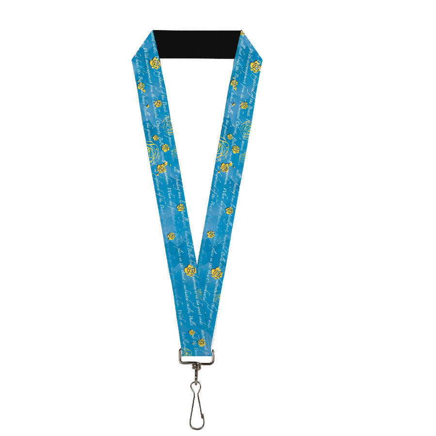 "Lanyard - 1.0"" - Beauty & the Beast Story Script"
