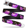 Cheshire Cat Eyes Smile Full Color Seatbelt Belt - Cheshire Cat Tree Poses Webbing