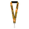 "Lanyard - 1.0"" - TOM & JERRY Tom Chasing Jerry Houndstooth Browns"