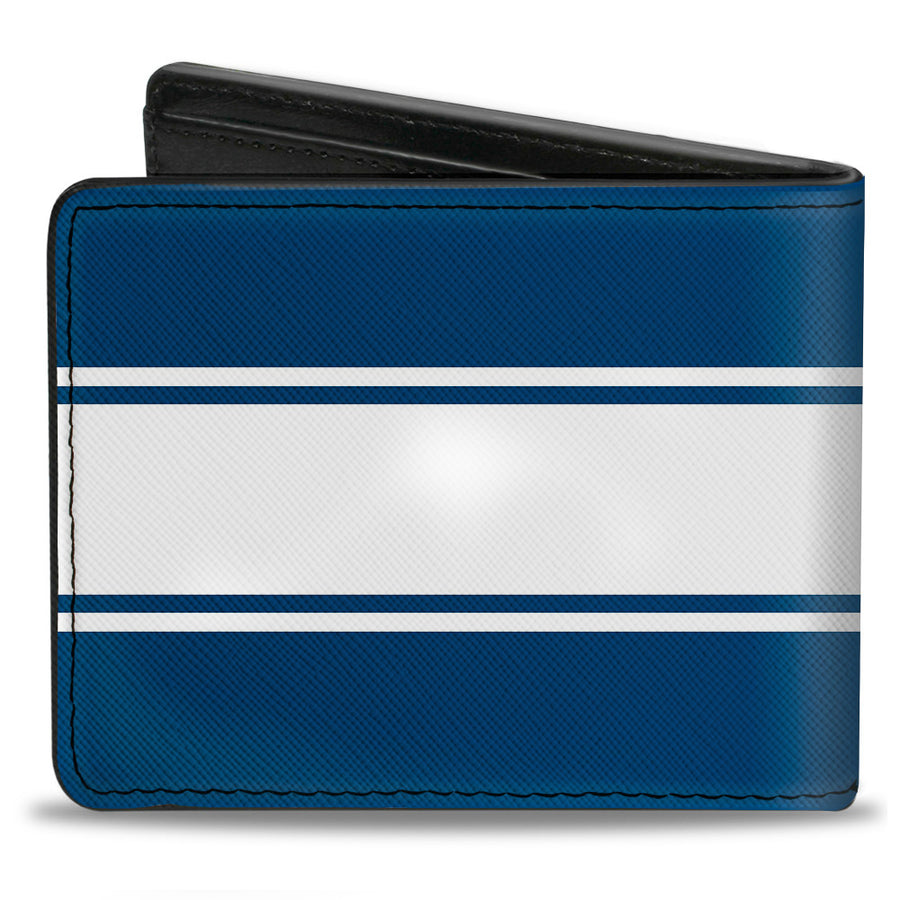 Bi-Fold Wallet - Ford Mustang GT CS Stripe Blue White