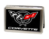 Business Card Holder - LARGE - Corvette FCG Black White Red