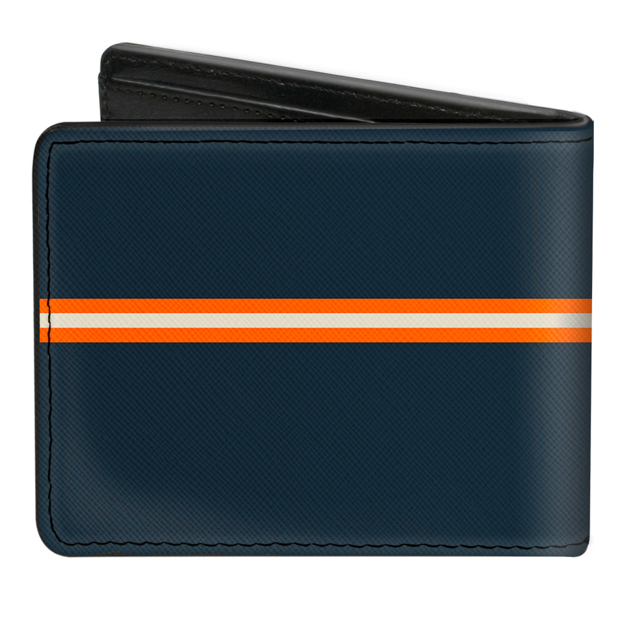 Bi-Fold Wallet - APOLLO 8 Orbit Blues Orange White
