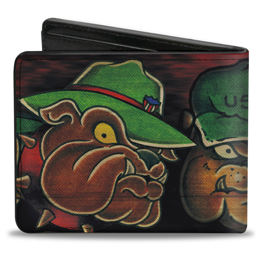 Bi-Fold Wallet - Tattoo Johnny-Bulldog