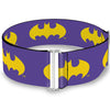 Cinch Waist Belt - Batman Signal Purple Yellow