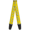 Guitar Strap - Tweety Bird Expressions Yellow