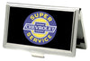 Business Card Holder - SMALL - CHEVROLET SUPER SERVICE Logo FCG Black Blue Yellow White