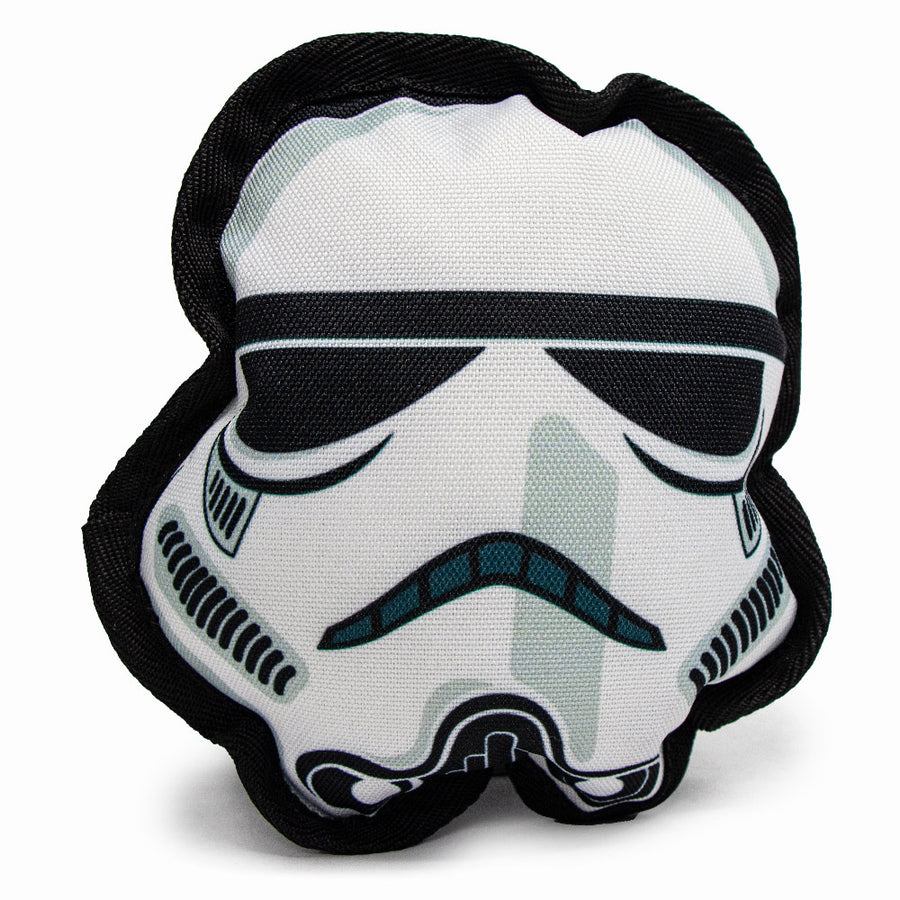Dog Toy Squeaky Plush - Star Wars Stormtrooper Head
