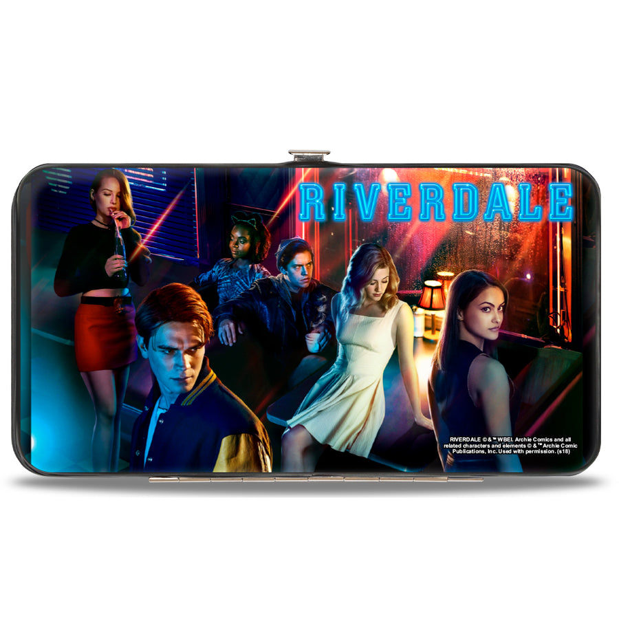 Hinged Wallet - RIVERDALE 6-Character Diner Group Pose