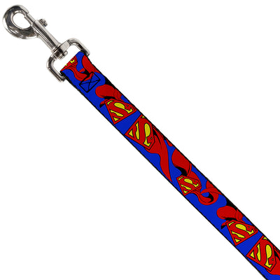 Dog Leash - Superman Shield w/Cape