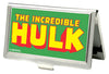 MARVEL COMICS Business Card Holder - SMALL - THE HULK FCG