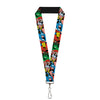 "MARVEL AVENGERS Lanyard - 1.0"" - Avengers Superheroes CLOSE-UP"