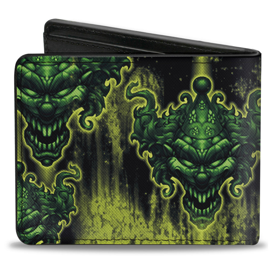 Bi-Fold Wallet - Tattoo Johnny-Evil Clown