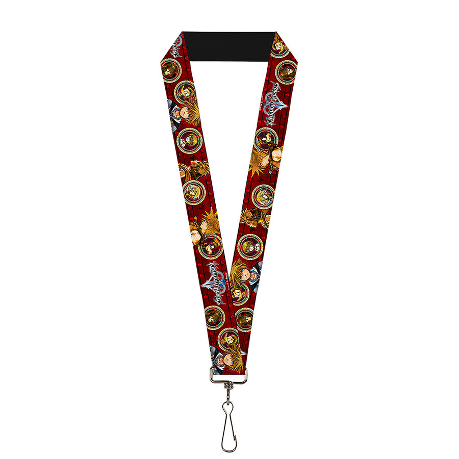 "Lanyard - 1.0"" - KINGDOM HEARTS Sora Poses Friend Cameos"