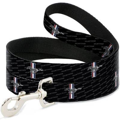 Dog Leash - Ford Mustang w/Bars REPEAT w/Text