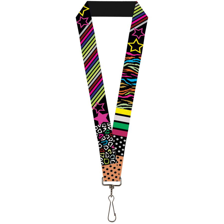 "Lanyard - 1.0"" - Animal Skins & Stripes 1"