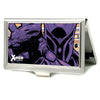 MARVEL X-MEN Business Card Holder - SMALL - X-MEN Magneto Reaching Out Pose FCG Yellow Purples
