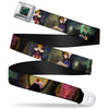 Snow White Poisoned Apple Full Color Seatbelt Belt - Snow White Evil Queen Poses Webbing
