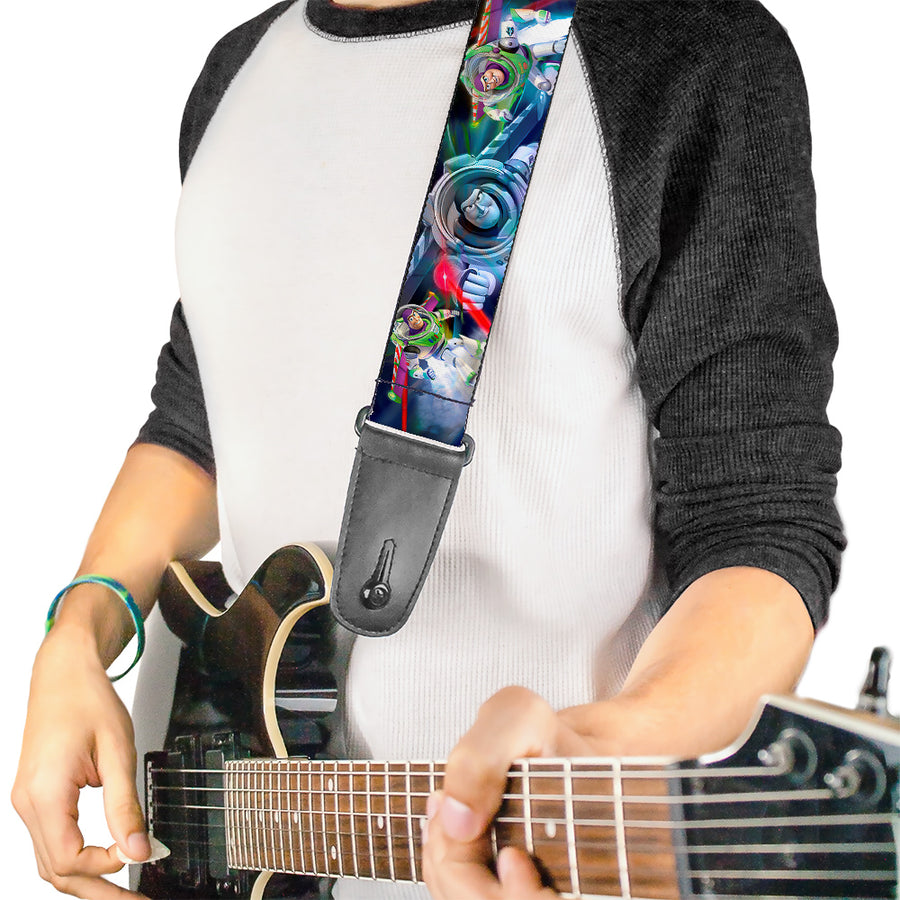 Guitar Strap - Buzz Lightyear Action Poses Stacked