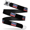 Ford Trucks Seatbelt Belt - Ford Trucks Logo REPEAT Webbing