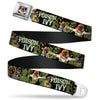 Gas Masked POISON IVY Full Color Seatbelt Belt - Detective Comics Issue #752 Cover Gas Masked POISON IVY Webbing