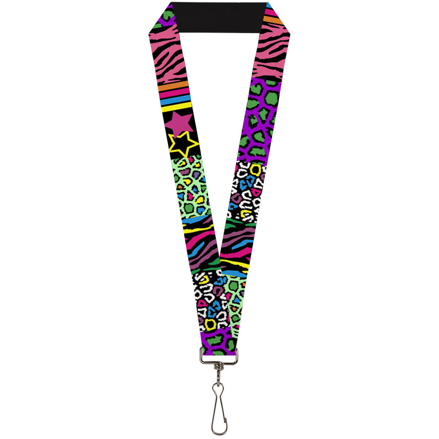 "Lanyard - 1.0"" - Animal Skins & Stripes 2"