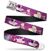 Alice Cards Full Color Pinks Seatbelt Belt - Alice Meets the Queen of Hearts Poses/Card March Webbing