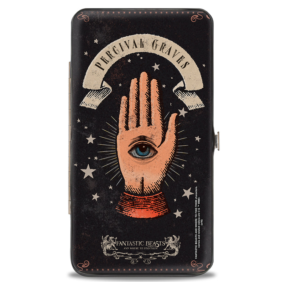 Hinged Wallet - FANTASTIC BEASTS AND WHERE TO FIND THEM PERCIVAL GRAVES Eye in Hand Icon