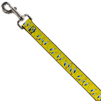 Dog Leash - Tweety Bird Expressions Yellow