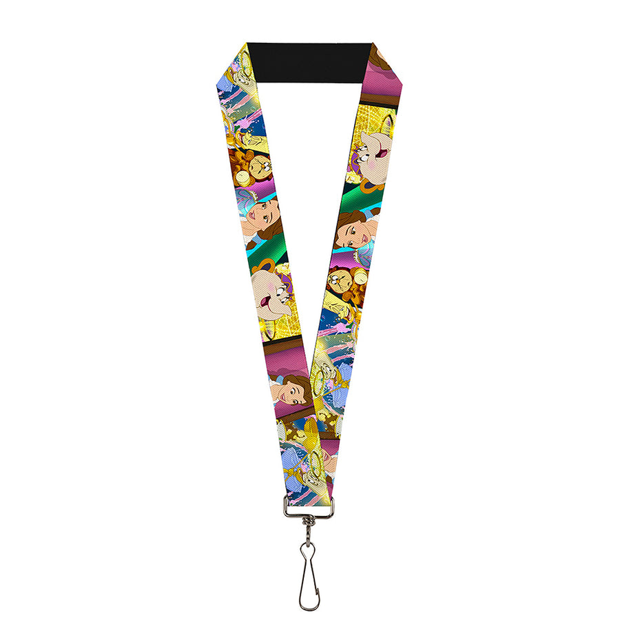 "Lanyard - 1.0"" - Beauty & the Beast Be Our Guest Scenes"