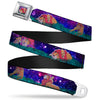 Mufasa & Simba Full Color Seatbelt Belt - Mufasa & Simba Night Poses Webbing