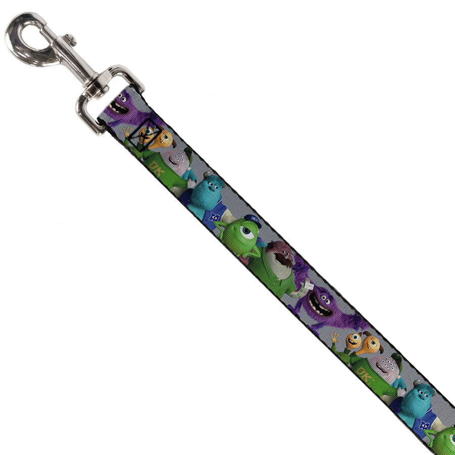 Dog Leash - Monsters University Character Lineup Gray