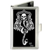 Business Card Holder - SMALL - Harry Potter Dark Mark Symbol FCG Black Gray White
