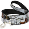 Dog Leash - Mossy Oak Country Roots Snowdrift Camo White