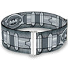 Cinch Waist Belt - Batman Utility Belt Grays