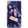MARVEL UNIVERSE Hinged Wallet - Jessica Jones Marvel Now Variant Comic Book Cover 1 Tossing Business Card + Title Pinks Blues