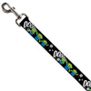Dog Leash - Toy Story 3-Aliens OOOOOHHH Black/White/Gray
